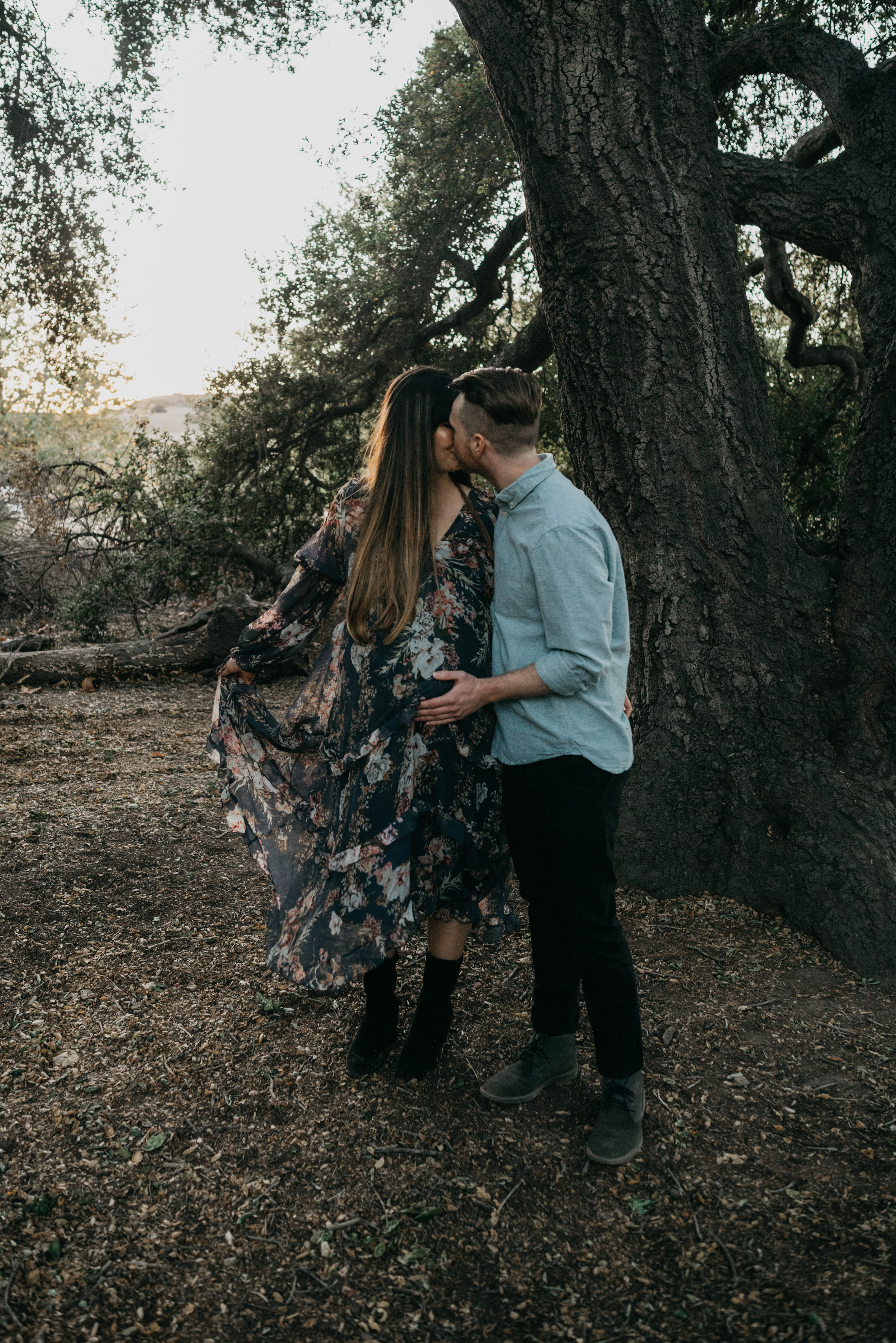 Thomas F Riley Wilderness Park Maternity Session, image by Fatima Elreda Photo