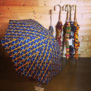 アフリカ柄 日傘