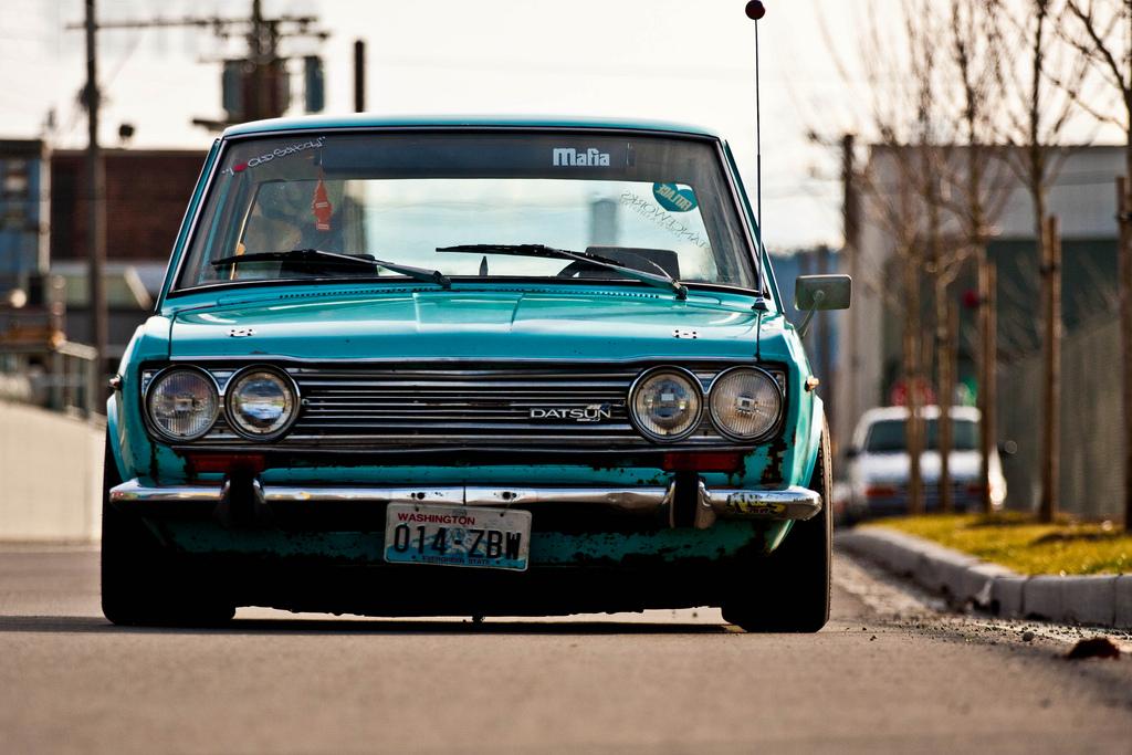 Oldschool Wallpaper Car Slammed Society Datsun 510 Fatlace Since 1999