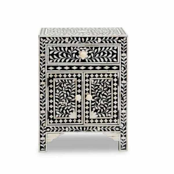 inlay bedside table