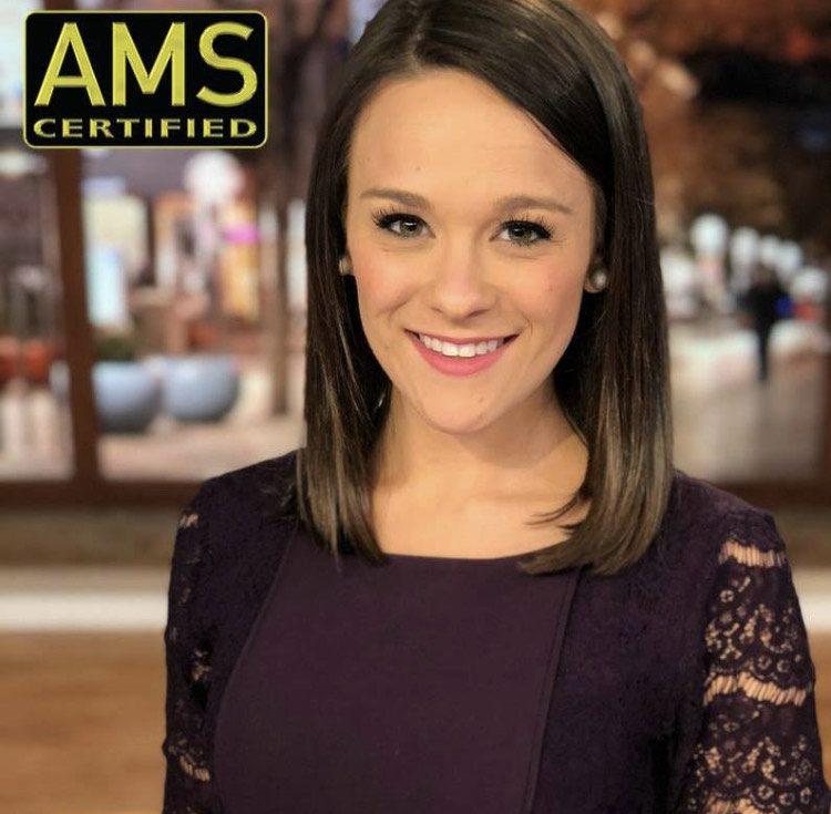 Headshot of AMS certified meteorologist Christine Rapp