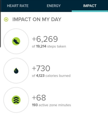 The step count from the Church Rock trail was 6,269 steps according to my Fitbit.