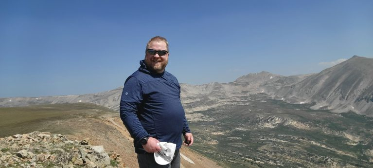 From the top of a 13 thousand foot peak the Fatman version of myself is still moving like a Fitman.