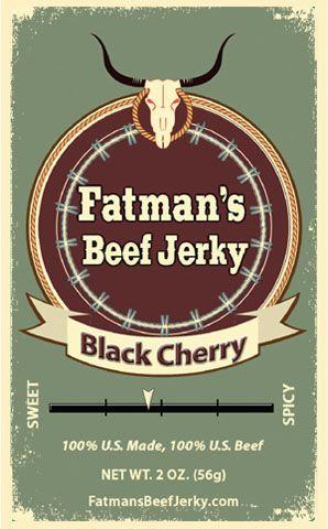 Black Cherry Beef Jerky