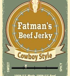 Cowboy Style Beef Jerky