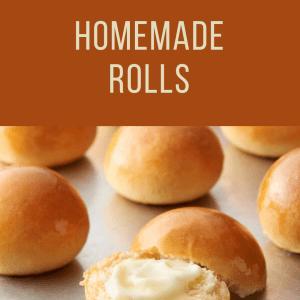 Thanksgiving Homemade Rolls To Go