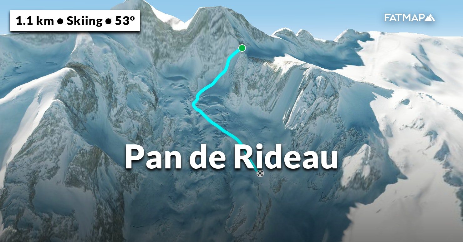 pan de rideau outdoor map and guide