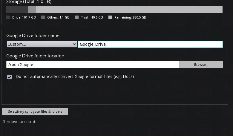 Insync: The Powerful Google Drive Client For Linux : FATMIN