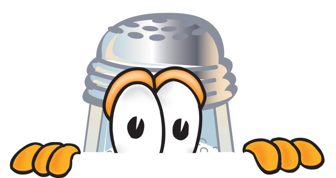 Royalty-free cartoon styled clip art graphic of a salt shaker character  This image is available as an EPS file for an extra $20 fee after purchasing the high resolution. In order to obtain the EPS you will need to contact customer service. You can obtain the EPS files for the whole collection by purchasing the large collection and paying an additional $100.