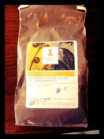 6th. Public Domain. a Blend. Roasters from Portland USA
