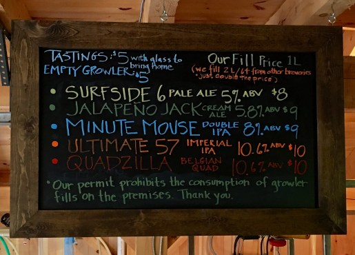 Beer Board Aug 27