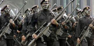 As 8 tropas militares mais assustadoras do mundo
