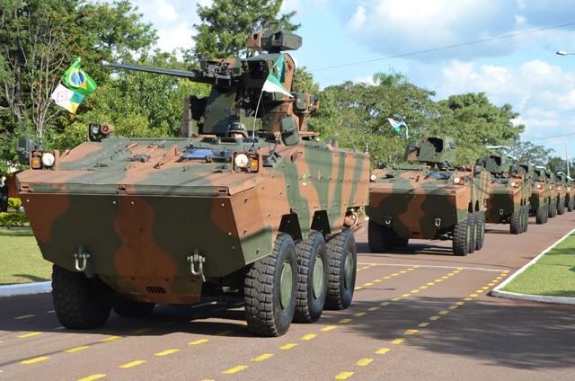 Segundo um relatório o Brasil foi terceiro maior comprador de armas em 2014.