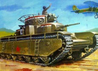 Engenheiros russos recriam lendário tanque soviético T-35