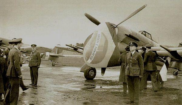RAF 193 Squadron Bellows-Brazil - Fatos Militares