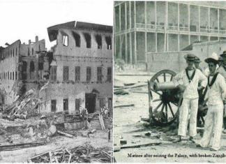 Guerra Anglo-Zanzibar o conflito militar mais rápido da história.