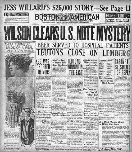 Jornal The Boston American