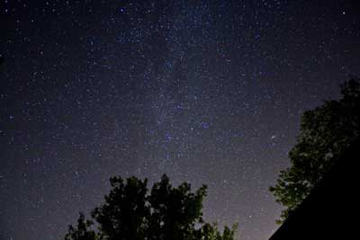 Ufos Que se assemelham-se a estrelas