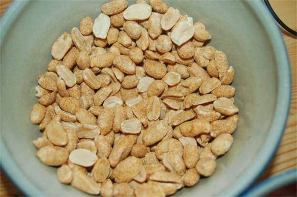 torrostade jordnötter