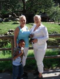 Jag, Helene och Mabou på Kålmården