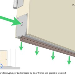 these diagrams illustrate the failure of a retractable door sweep  [ 1024 x 793 Pixel ]