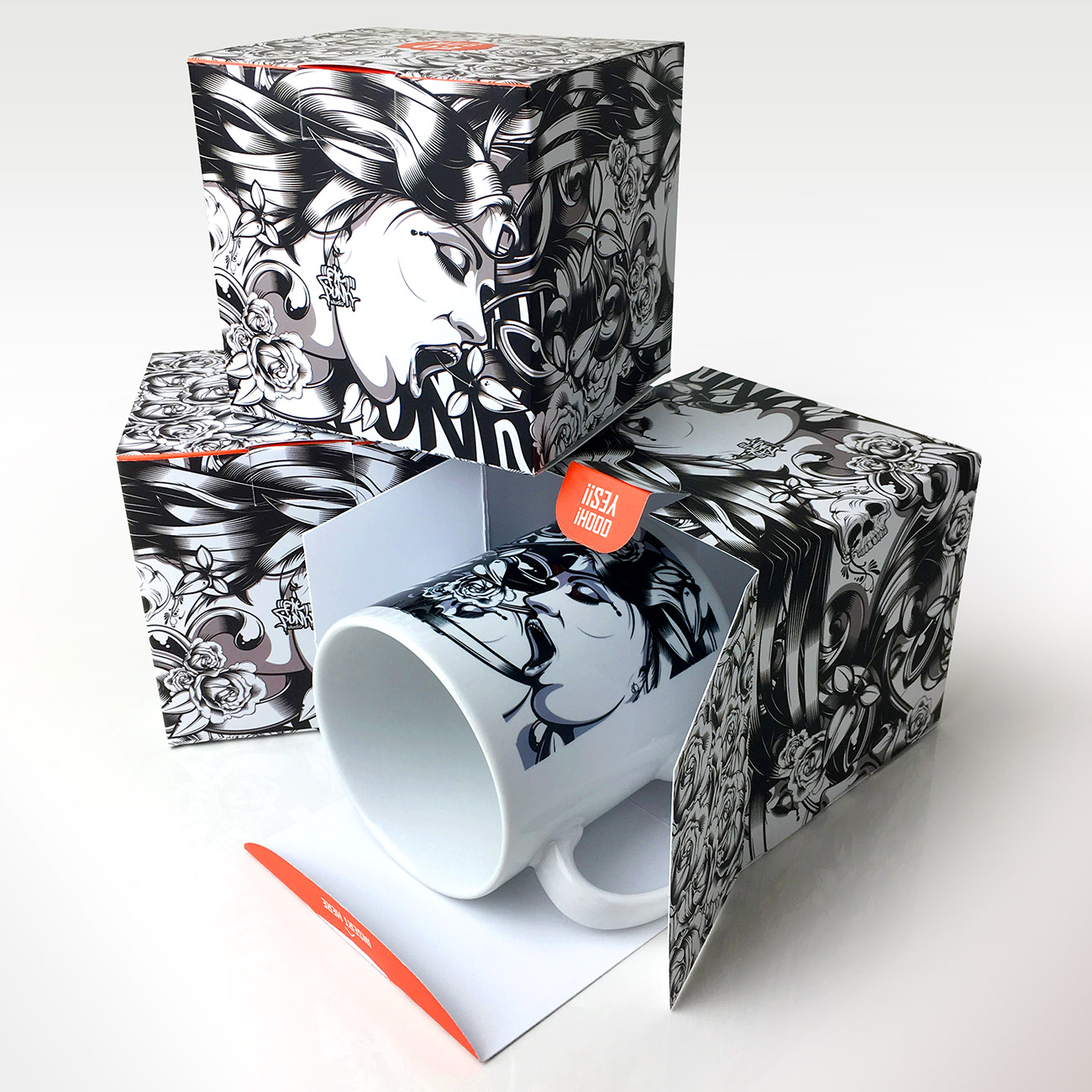 02 Box Mug & Gift Box (set 02) - Fat Punk Studio