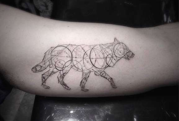 Stunning Geometric Fine Line Tattoos That You Simply Must See
