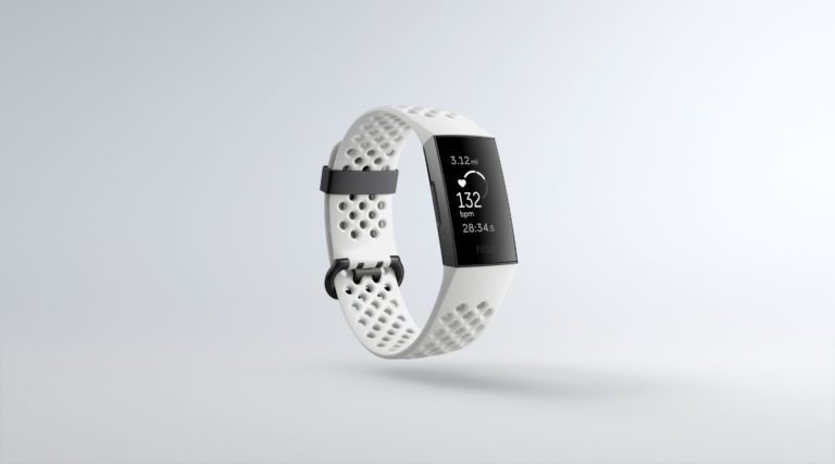 fitbit charge 3 white sport