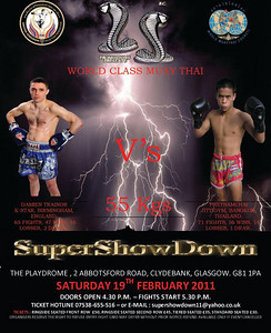 SuperShowDown Event February 19th, 2011 Scotland