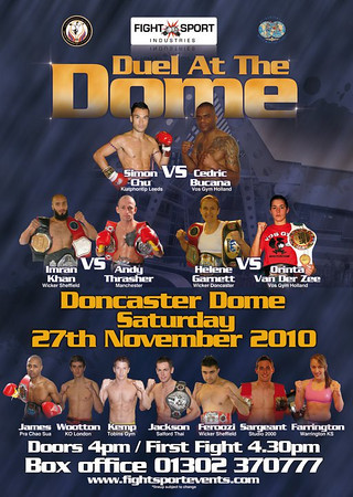 Duel At the Dome Coming November