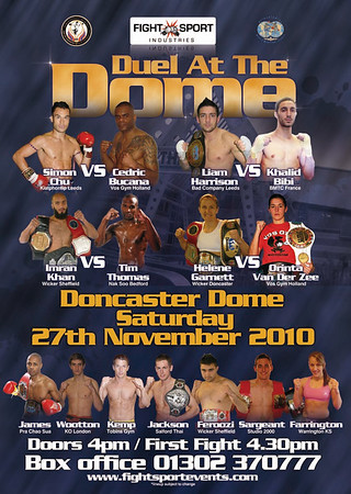 Liam Harrison Joins November 27th Fight Sport Card