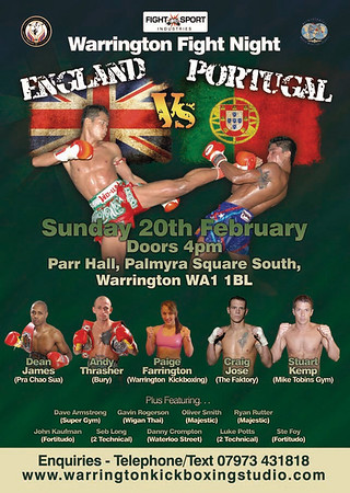 Warrington Fight Night Quick Results 2-20-11