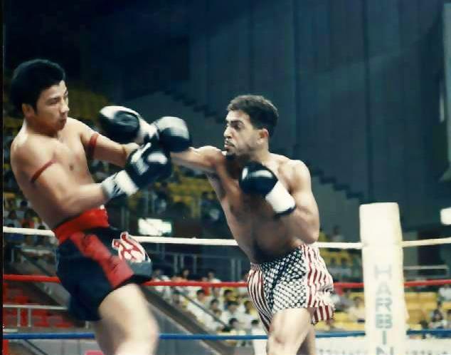 Bilam Nesradine Versus Muangfalek Kitvichian former Stadium Champion