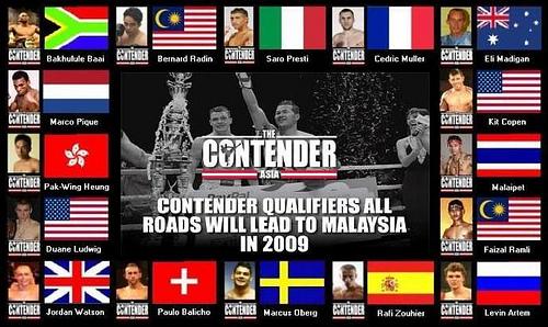 Contender 2 qualifiers