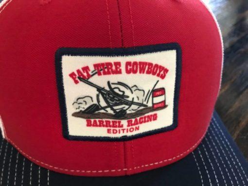 Fat Tire Cowboys Barrel Racing Cap