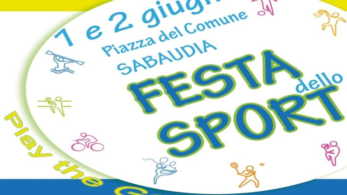 Sabaudia, due giorni in piazza con la Festa dello sport 2019