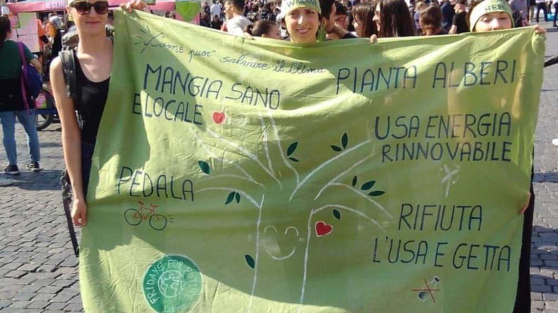 Fridays for Future: Jessica Brighenti e il venerdì verde a Latina