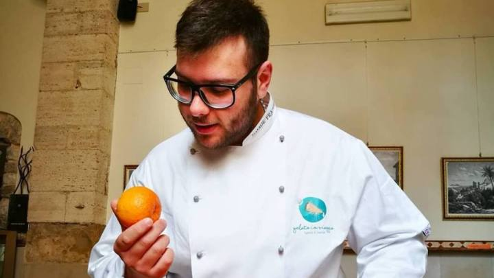 Davide Frainetti trasforma le eccellenze pontine in gelato