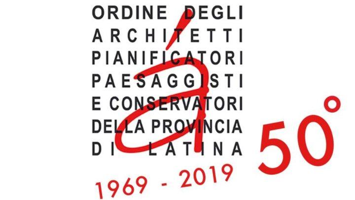 L'Ordine degli Architetti di Latina compie 50 anni