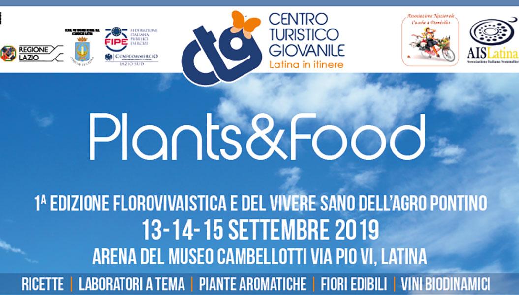 Latina, l'arena Cambellotti diventa verde con Plants & Food