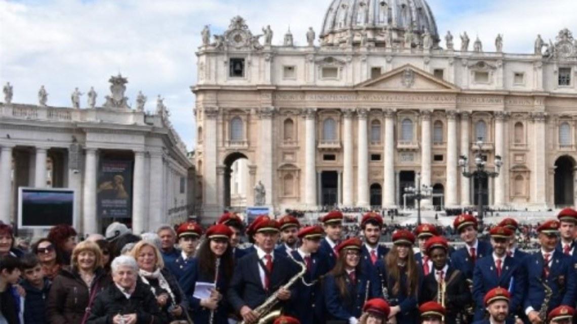 La banda musicale di Pontinia a Matera per un riconoscimento