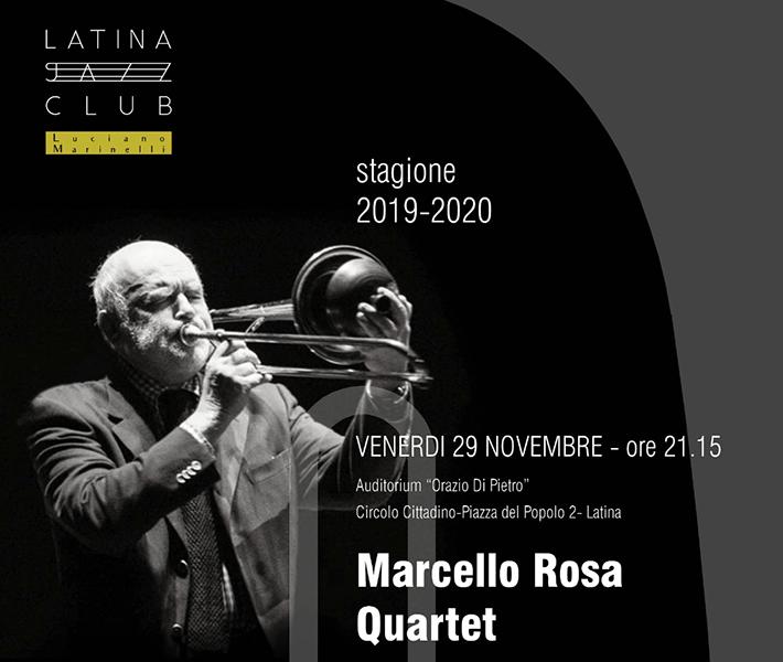 Latina Jazz Club, Marcello Rosa incontra la sua storia