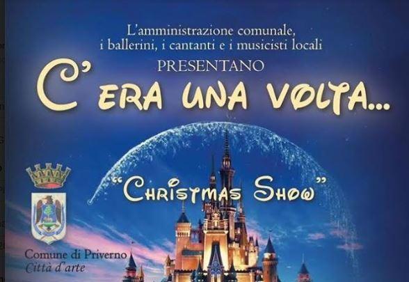 Christmas Disney Show, la magia si fa realtà a Fossanova
