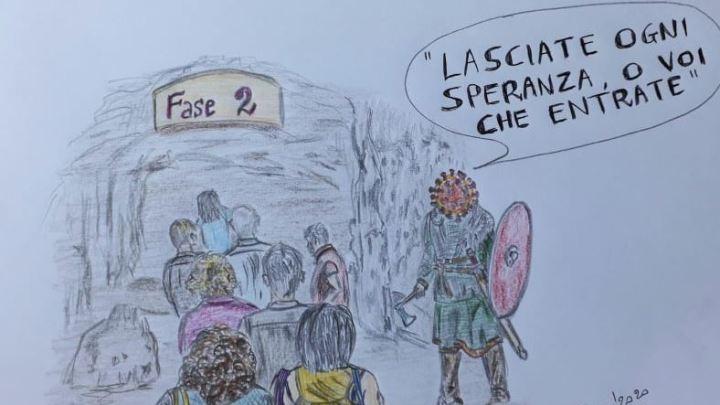 La vignetta di De Amicis/ La paura di tornare… liberi, l'angoscia della fase 2