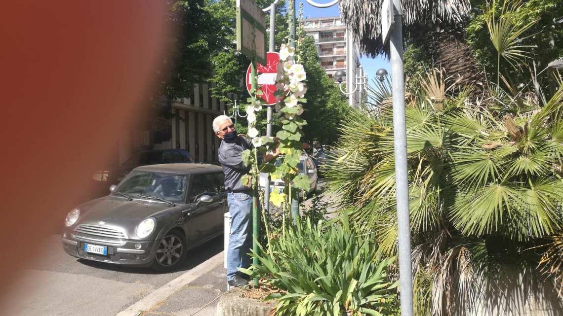 Esiste una Latina bella, l'uomo dei fiori nella città dei bravi