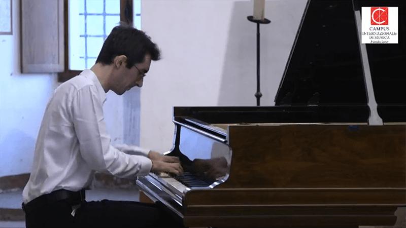 Festival Pontino, il giovanissimo Daniele Fasani conquista Sermoneta
