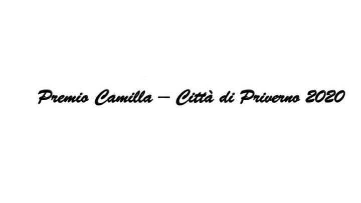 Premio Camilla Città di Priverno: proroga delle candidature fino al 31 dicembre 2020