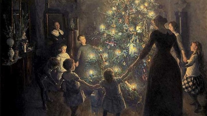 Il prossimo anno farò un Natale pieno di gente, farò come faceva papà