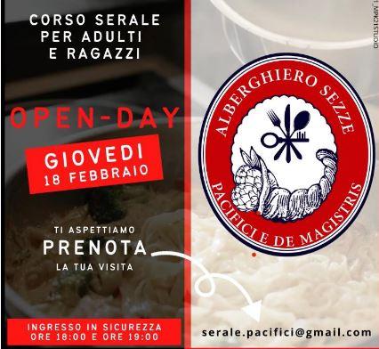 """Sezze: l'alberghiero vi invita """"suoi ospiti"""".Open day il 18 febbraio"""