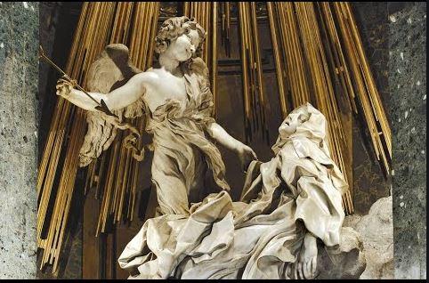 Estasi di un povero Cristo nella concessione dei santi